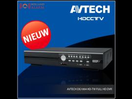 AVTECH DG1004 HD-TVI FULL HD