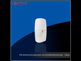 Draadloze PIR bewegingsmelder - Okka alarmsysteem