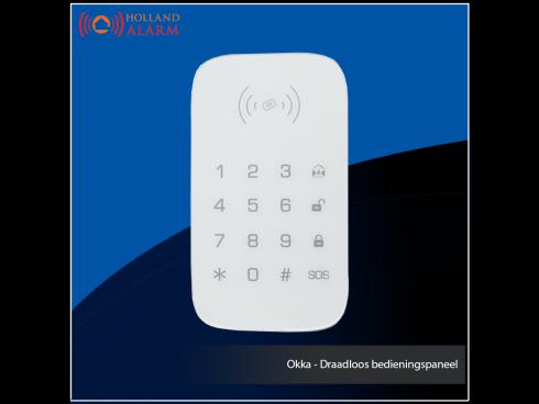 Okka - Draadloos bedieningspaneel
