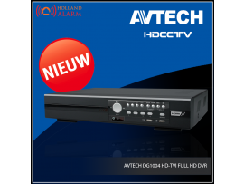 AVTECH DG1004 HD-TVI FULL HD