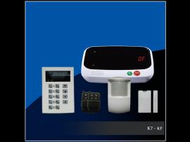 Draadloos GSM Alarmsysteem - K7 - kp - zonder logo