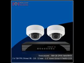 DVR - F4045RVD - 2 x 720 TVL Dome IR